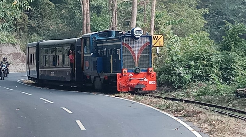 toy train Siliguri
