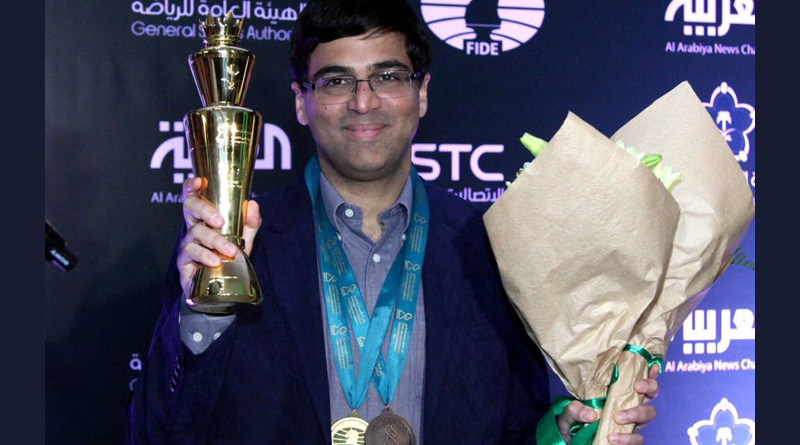 Viswanathan Anand bags bronze at World Blitz Chess Championship