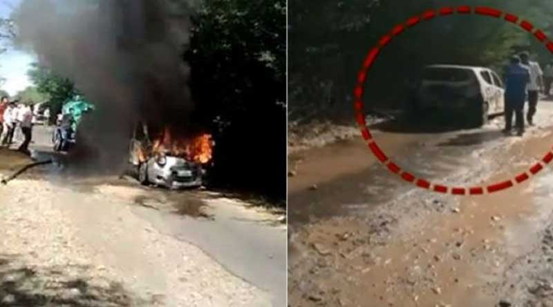 Rajasthan man burns wives to death in car