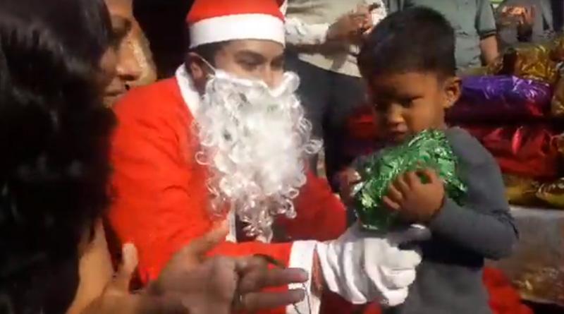 Making Christmas merrier, unique initiative by Sangbad Pratidin Digital