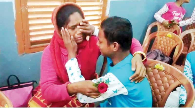 Lost boy regains memory on cricket ground, reunited with family