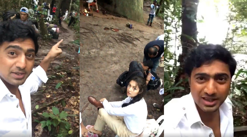 Watch Video: Dev shares 1st Day shooting video
