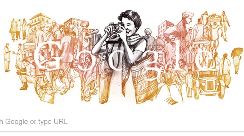 Google Doodle honours first photographer Homai Vyarawalla