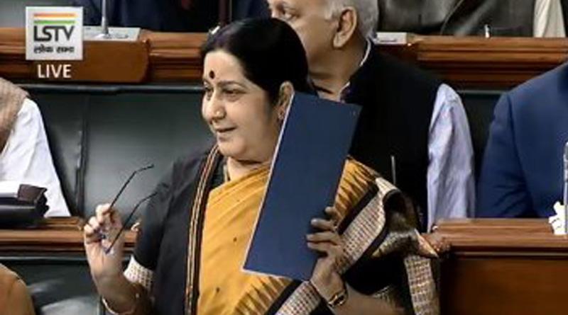 Pakistan heaped insult on Indian women: Sushma Swaraj