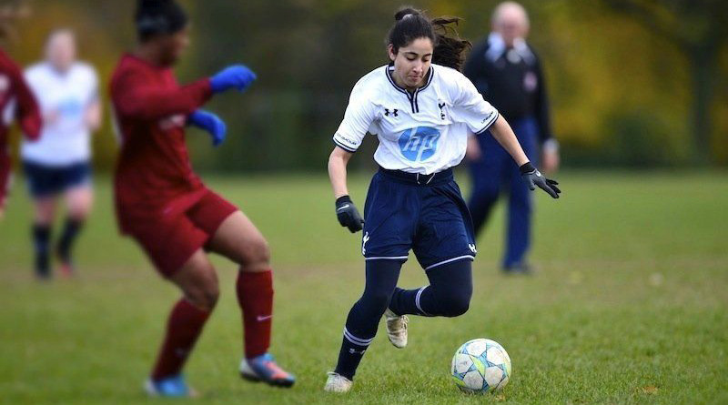 Tanvie Hans becomes first woman footballer to play in men's league