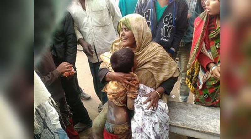 Crude bomb explosion in Murshidabad, boy injured