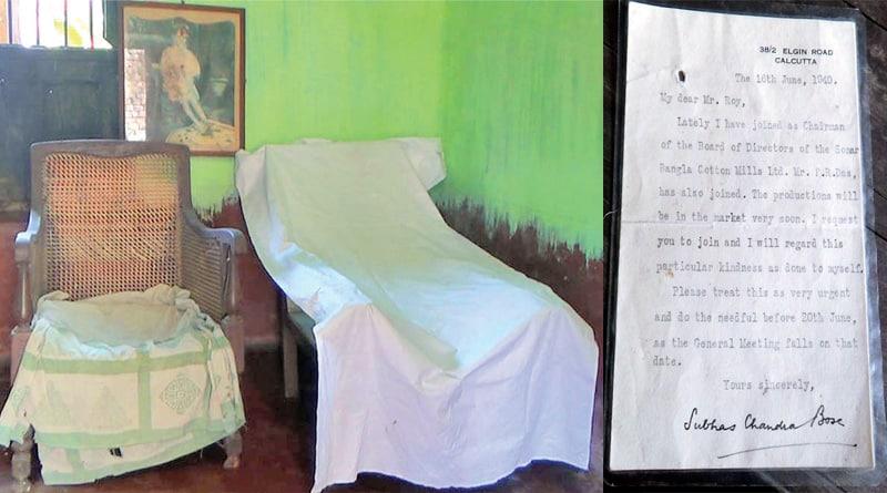 Asansol family preserves Netaji Subhas Bose's chair
