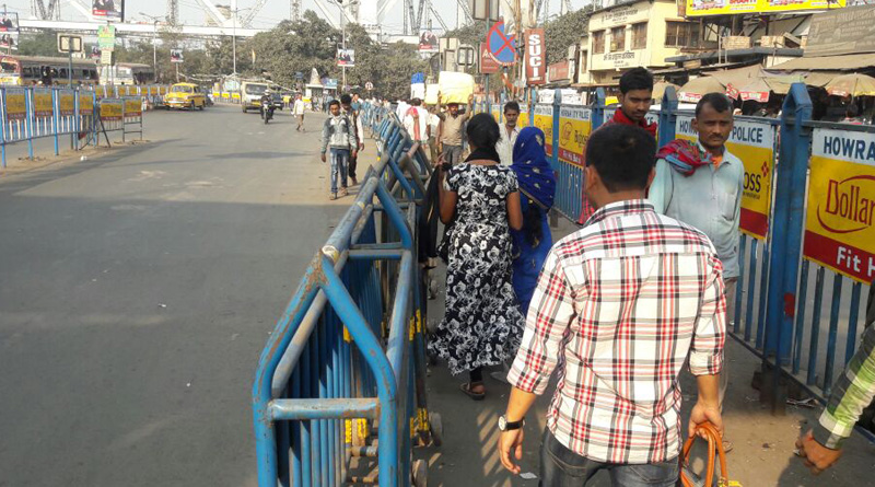 New lane in Howrah Station for commuters