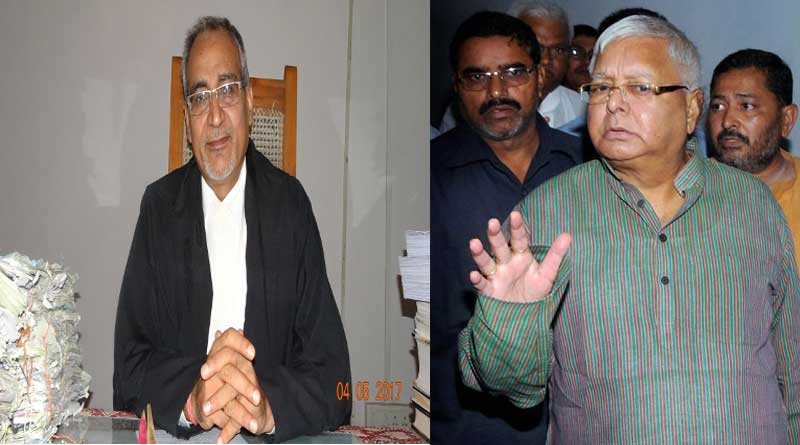 Judge who sent Lalu to jail harassed by land sharks