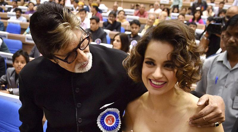 Amitabh Bachchan, Kangana Ranaut to act together in R Balki venture