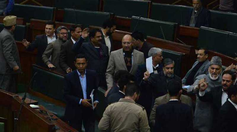 Kashmir assembly boils over minor's rap