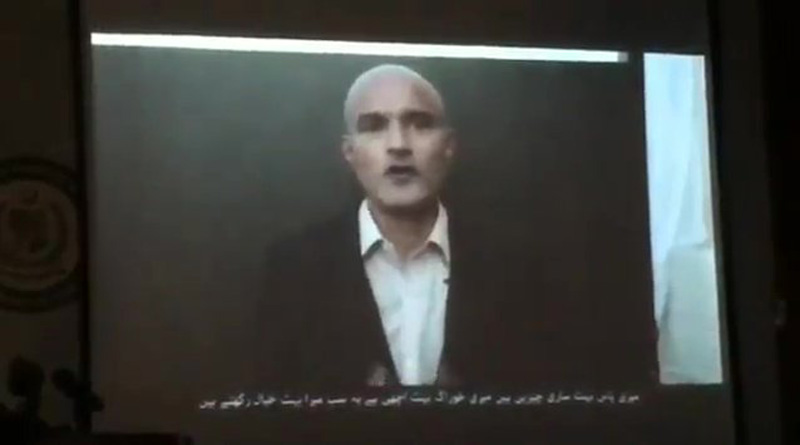 Pakistan releases another doctored video of Kulbhushan Jadhav