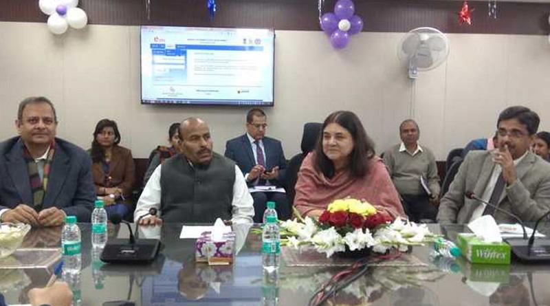 Maneka Gandhi launches 'NARI' portal for women