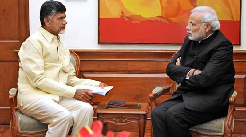 Telugu Desam Party may break its alliance with the BJP in Andhra Pradesh