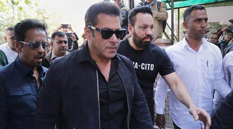 Salman Khan appears in Jodhpur court, regarding blackbucks poaching case