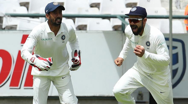 India Vs South Africa: Wriddhiman Saha scripts history with 10 dismissals