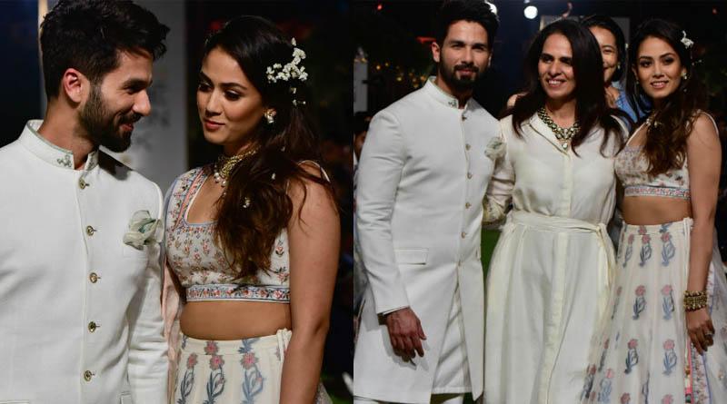 Lakme Fashion Week 2018: Shahid Kapoor And Mira Rajput walk hand-in-hand