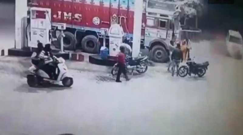 BJP leader allegedly thrashes Trucker in UP