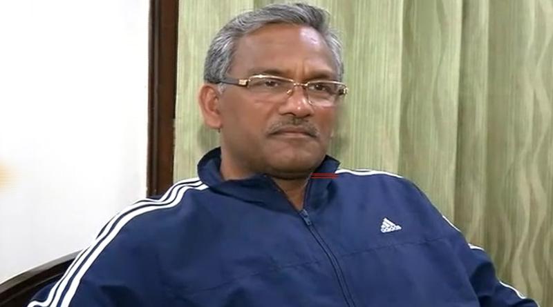 Former Uttarakhand CM Trivendra Rawat said that coronavirus is a living organism which has a right to live | Sangbad Pratidin