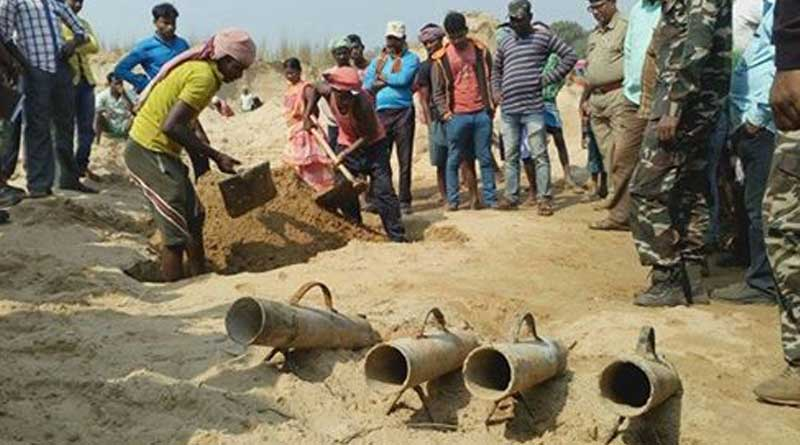 Deadly arms recovered from river in West Midnapore