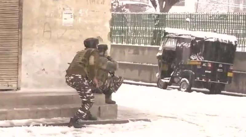 Terror attack on Srinagar CRPF camp foiled, hunt on