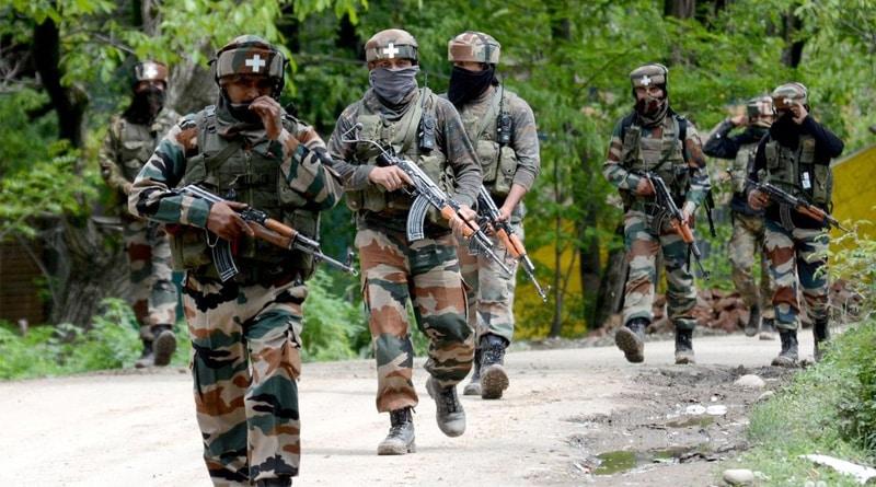 Encounter in Kashmir, Lashkar terrorist, 3 accomplices killed