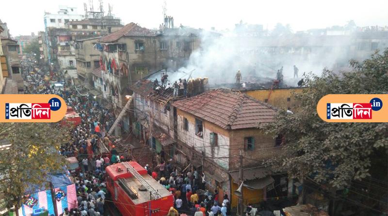 Major fire in Rajabazar