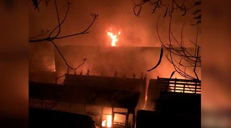 Fire in N Dinajpur 'red light' shanties, no casualty reported