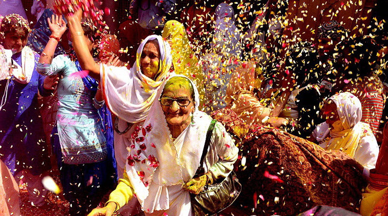 Happy Holi 2018: Vrindavan widows celebrate festival of colours