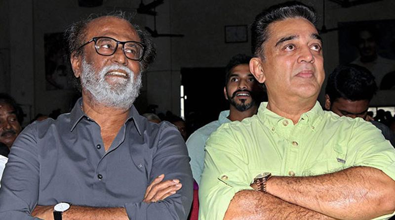 Hope Rajinikanth's Colour Isn't Saffron: Kamal Haasan