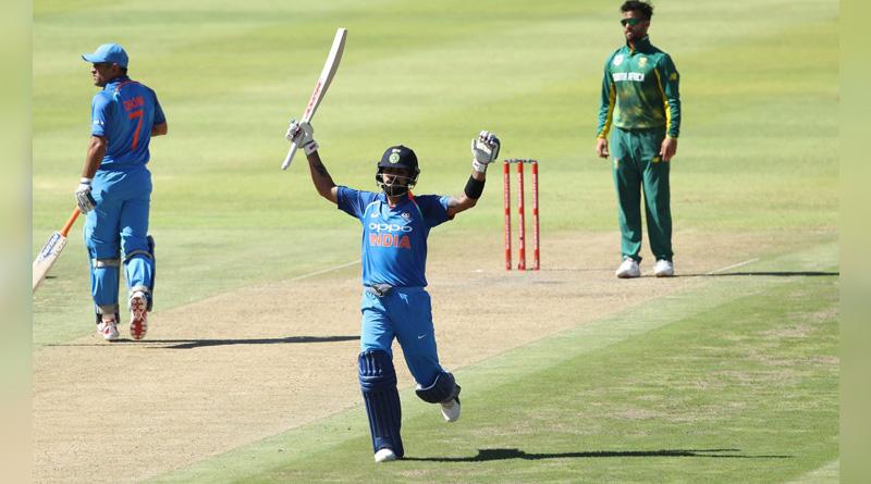 Virat Kohli scored yet another hundred, his 34th in ODI