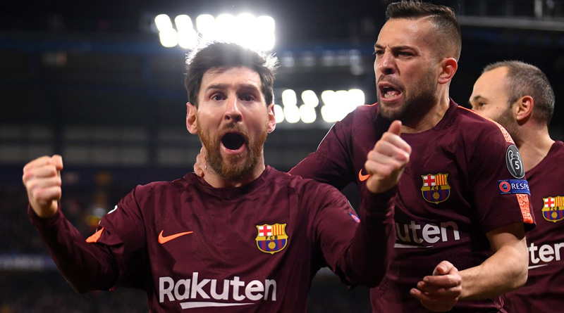 Lionel Messi scored against Chelsea to earn draw for Barcelona