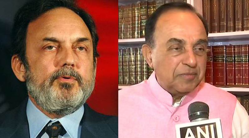 Subramanian Swamy demands probe against NDTV's Prannoy Roy