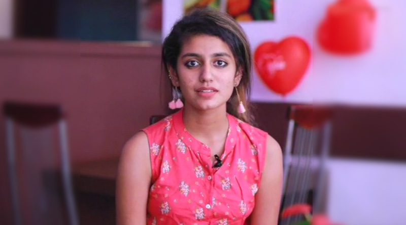 Actor Priya Prakash Varrier reaction on cases against her song