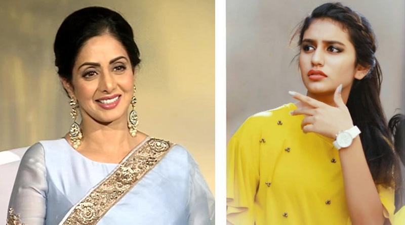Watch, Priya Prakash Varrier pays tribute to Sridevi