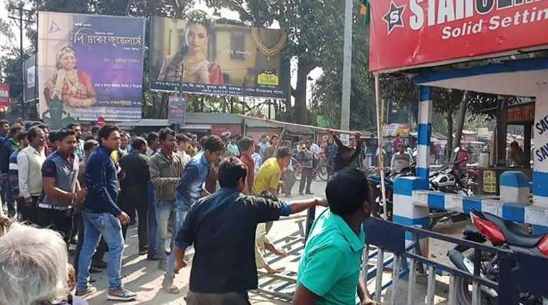 Student death in road accident sparks violent protest in Raigung