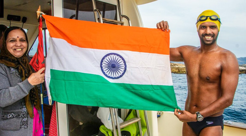 Indian Swimmer Rohan More becomes the first Asian to complete Ocean Seven Challenge