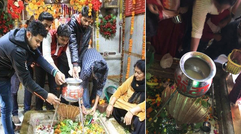 Meerut Students invention to stop milk wastage on Shivratri