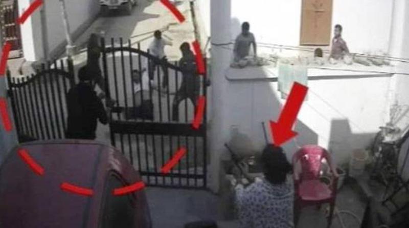 UP: Gun totting woman saves husband from goons