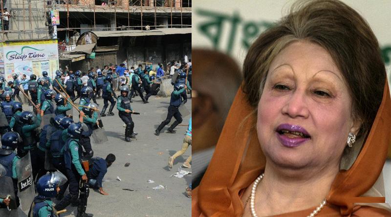 Bangladesh court sends Khaleda Zia to prison