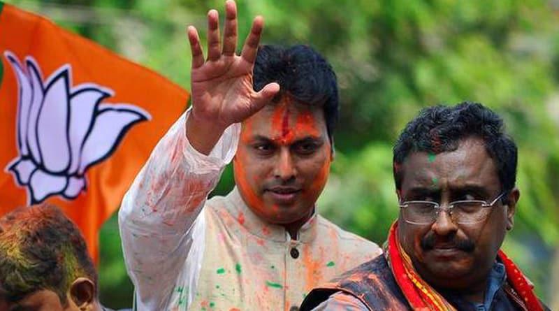 BJP high command expresses faith on Biplab Kumar Deb | Sangbad Pratidin