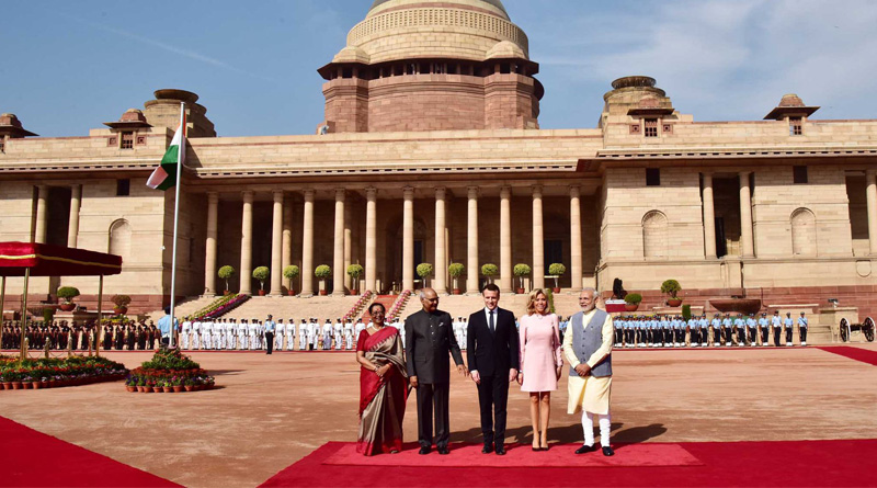 With China in mind, India, France pledge to work for Indian Ocean freedom of navigation