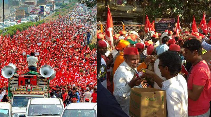 Farmers agitation in Maharashtra, Mumbaikars extend helping hands to agitators