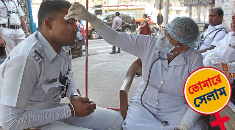Geeta Dey gives free medical treatment everyday at Rashbihari