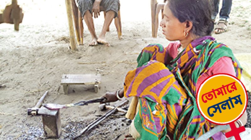 International Women's Day: Jhargram woman forges metal, shapes life