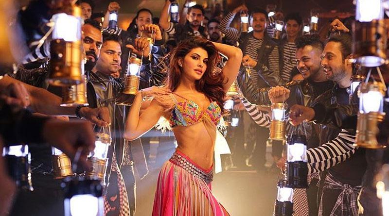 Jacqueline Fernandez enacts Madhuri Dixit on Baaghi 2 song Ek Do Teen