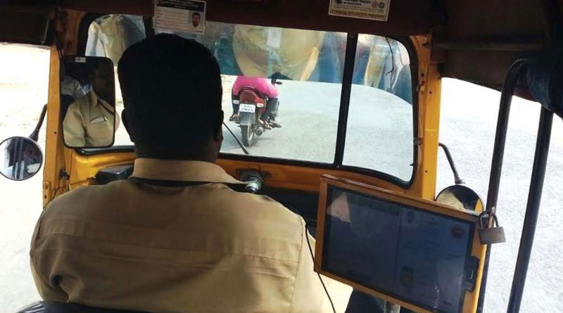 Class 11 girl molested in running auto in Rajarha