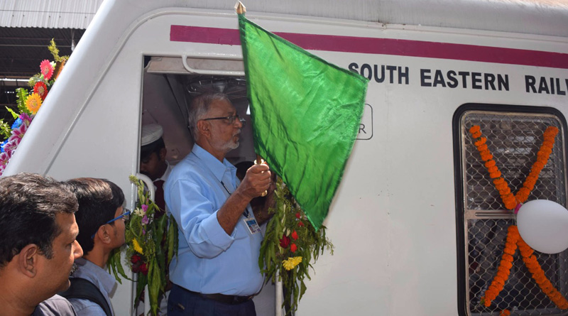 New model local train rolls on Howrah-Kharagpur route