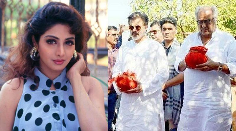 Boney Kapoor fulfills promise Sridevi made before her death