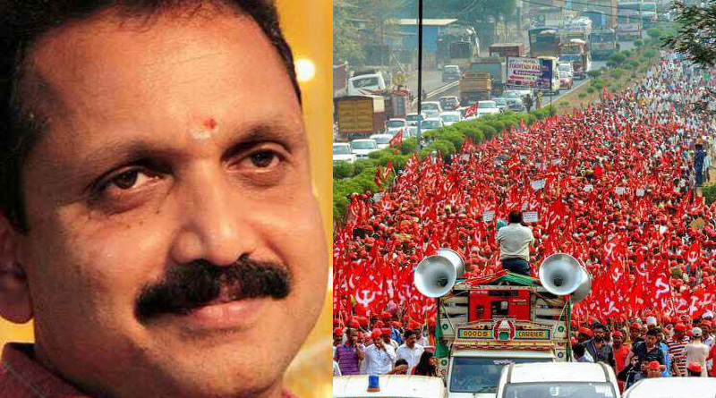 Farmers' Long March plot to instigate riot: BJP leader